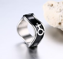online shopping new arrival stainless steel rainbow rings gay or lesbian rings comrade ring lgbt for - Lesbian Wedding Rings