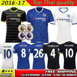 online shopping 2016 Chelsea jersey home away rd FABREGAS OSCAR HAZARD MIAZGA WILLIAN TERRY ZOUMA DIEGO COSTA jersey