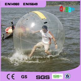 Livraison gratuite! diamètre 2m marche de l'eau gonflable de boule, boule de hamster sur l'eau, l'eau balle gonflable