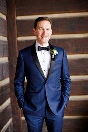 Wholesale 2016 Groom suit Formal suit Wedding suit for men Groomsman Suit Men Suits Jacket Pants classic fit Size Bridegroom Suit