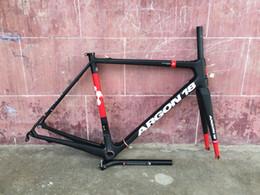 Argon 18 Tour De France cadres de vélo de team 2016 plus récent et vente chaude Argon18 Gallium Pro cadre de vélo de route en carbone + fourche + poste de siège + serre-tête + casque