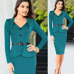Discount Office Lady Elegant Dress Suits | 2017 Office Lady