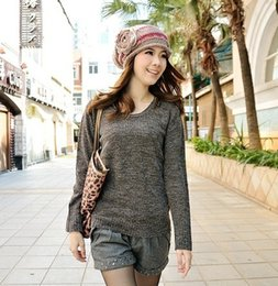 Autumn Elegant Temperament All-match Blended Sweater women Sweater Female Special Offer