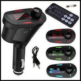 online shopping Newest Car MP3 Player Wireless FM Transmitter Modulator with USB SD MMC LCD With Remote Car Mp3 Player Wireless FM Modulator