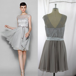 Silver Grey Cocktail Dresses Online | Purple Silver Grey Cocktail ...