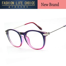wholesale hot sale women men retro big frame optical frame elegant decoration eyeglasses frame spectacles round glasses frame inexpensive eyeglass frames