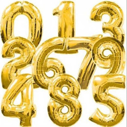 new practical alphabet wedding party birthday christmas party gold foil quot balloons foil letters number set