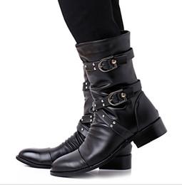 Discount Men Combat Boots Punk | 2017 Men Combat Boots Punk on ...