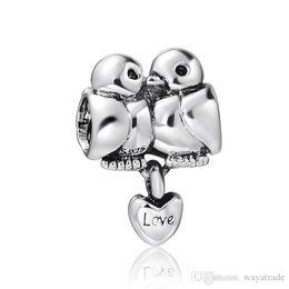 Love Birds Pandora Charm