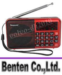 Динамик Бесплатная доставка цифровой приемник плеер TF карта FM-радио MP3 USB Диск с аккумулятором LLFA11
