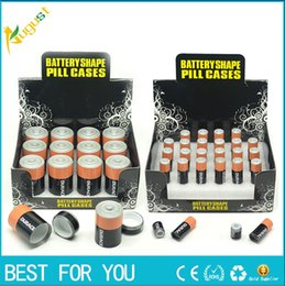 Wholesale Sale hot Battery Secret Stealth Stash Diversion Safe AA Battery Pill Box Hidden Container Case Gift New