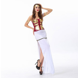 Wholesale Deluxe Egyptian Arabian Princess Greek Goddess of War Ancient Greek Gladiator Women Cosplay Costume Party Halloween Costumes