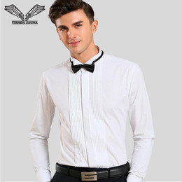 Discount wing collar shirts 2017 wing collar shirts on for Wing tip collar shirt