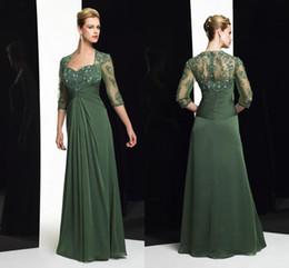 Discount Mother Bride Dress Olive Green - 2017 Dark Olive Green ...