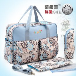 Wholesale 2016 Shipping Free Antimicrobial Baby Diaper Changing Bag Waterproof Mommy Bag Fashion Nappy Bag With Waterproof Nylon Material