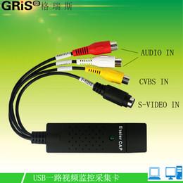 Livraison gratuite EasyCAP vidéo gros carte de capture vidéo 1 carte d'acquisition USB 1160 carte de capture vidéo