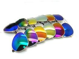 2017 woman uv sunglasses 2016 Hot Sell Unisex Fashion Mirrored lens Sunglasses Driving Colorful Coating Frog Mirror Men Women UV Protection Eyewear Glasses cheap woman uv sunglasses