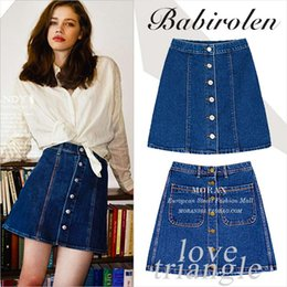 Discount Plus Size Denim Skirt | 2017 Plus Size Long Denim Skirt