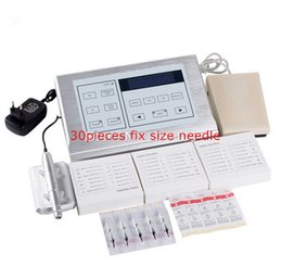 Wholesale Tattoo Permanent Makeup kit with Rotary tattoo Machine Kit Nouveau Contour LCD power supply