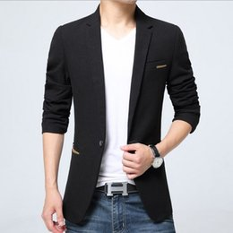 Discount Slim Red Black Blazers For Men | 2017 Slim Red Black ...