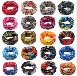 Discount women scarves dhl shipping 150 colors Bandanas Multifunctional Outdoor Cycling Scarf Magic Turban Sunscreen Promotion Seamless Women Men Hair band DHL Fast Shipping