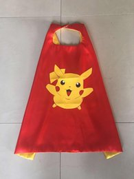 Wholesale 55 styles Double Halloween Capes and mask TMNT capes mask set Cinderella for Kids CM