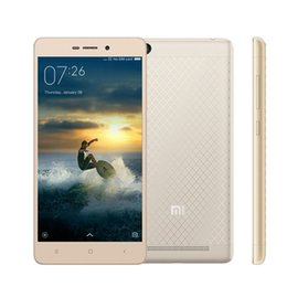 "Discount chinese metal body phone Original Xiaomi Redmi 3 Snapdragon 616 Octa Core Mobile Phone 2GB RAM 16GB ROM 5.0"" 1280x720 Metal Body 4100mAh Battery MIUI 7"