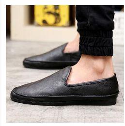Discount Black White Boat Shoes Men   2017 Black White Boat Shoes ...