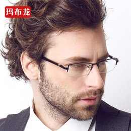 discount wire frame glasses real anti radiation glasses goggles memory titanium wire frame flat plate half