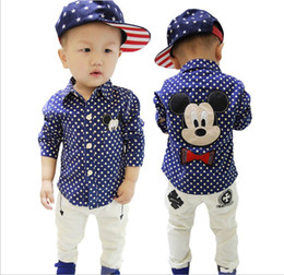Discount Baby Boys Mickey Mouse Shirt | 2017 Baby Boys Mickey ...