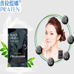 Wholesale PILATEN Blackhead Remover Deep Cleansing Purifying Peel Acne Treatment Mud Black Mud Face Mask mineral mud to nasal membrane
