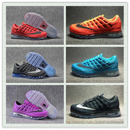 2017 shoes run air max Hot Sale Mesh Knit Air Sportswear Men Women Max 2016 Running Shoes Cheap Sports Maxes Trainer Sneakers With Box Size US5.5--11