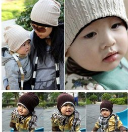 2017 baby adult cap hat New Twisted Style Hat Children's Double-sided Hats Child baby's caps cream red blue gray coffee caps adult and baby hats u can choose baby adult cap hat promotion