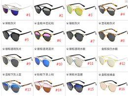 Discount woman uv sunglasses 2016 So Real sunglasses for women mental polarized sunglasses brands UV sunglasses for women's retro vintage sunglass 16 colors
