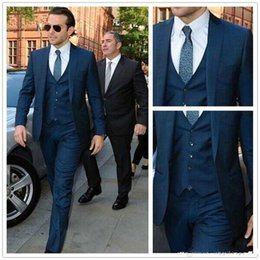 Mens Navy Blue Suit Vest | My Dress Tip