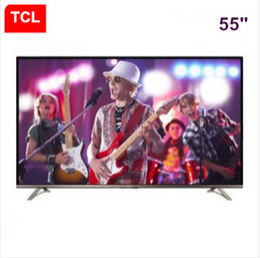 TCL 55 la resolución electrónica 3840 * 2160 del micro-canal del Internet TV de la pulgada 4K UHD Ultra HD Smart TV TV libera el envío