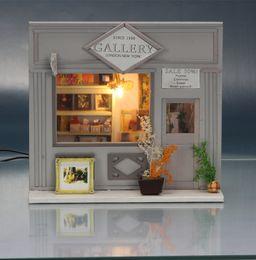 discount dollhouse furniture diy kit 2016 new wooden dollhouse furniture kids toys handmade gift diy doll affordable dollhouse furniture