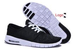 online shopping Cheap sb stefan janoski max air net men women running shoes top quality low unisex sports shoes sneakers