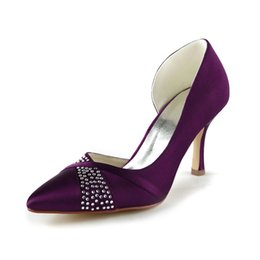 Purple Kitten Heel Wedding Shoes Online | Purple Kitten Heel