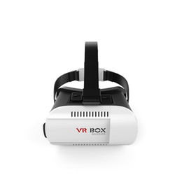 VR gafas 3D Google Versión cartón realidad virtual montado en la cabeza DIY 3D VR video de la caja de película Gafas de juego con la venda
