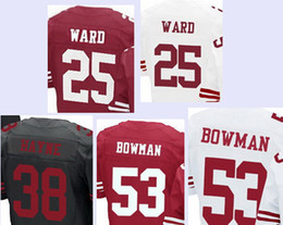 Jimmie Ward 25 San Francisco 49ers White Elite Jersey  supplier