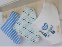 3pcs / set momscare Enfants Infant bébé nouveau-né Bandana Bibs Serviette serviette salive Burp Chiffons coton Cartoon animaux K7074 BJ
