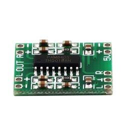 PAM8403 Ультра миниатюрный цифровой усилитель мощности Совет класса D 2channelsx3W Оптовая