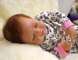 Wholesale Very soft inch reborn baby doll high quality lifelike soft silicone vinyl children dolls real gentle touch bonecas reborn