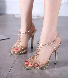 Transparent High Heel Lady Sandals Online | Transparent High Heel ...