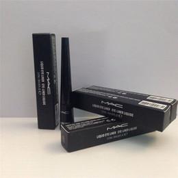 Wholesale M A C Liquid Eyeliner Pen Waterproof Black Eyeliner Long Lasting Cosmetic Eye Makeup Fast Dry Liquid Eyeliner Pencil Makeup Eye Liner
