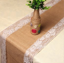 table linen direct direct selling jute cloth lacelinen table runner - Discount Table Linens