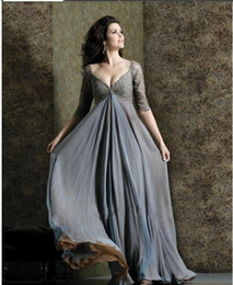 Empire Waist Mother Bride Dresses Online  Long Empire Waist ...