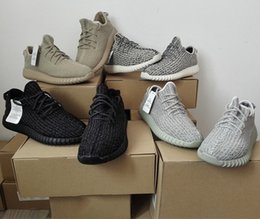 350 Boosts High Quality Y Boost 350 Pirate Black Turtle Dove Gray Oxford Tan Moonrock Y Kanye Outdoor Shoes with Original Box