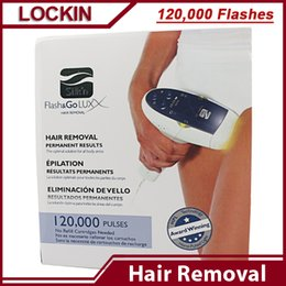 Wholesale Electric Silk n Laser Hair Removal Device Disposable Lamp flashes Permanent Hair Shaver for Body and Face Flash Go Vs PMD no no hair